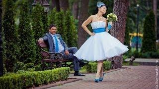 видео Короткие свадебные платья недорого