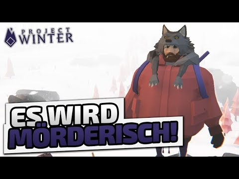 Es wird MÖRDERISCH! - ♠ Project Winter ♠ - Deutsch German - Dhalucard