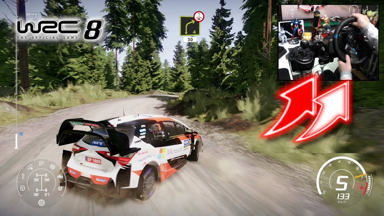 Download WRC 8 Toyota Yaris Rally Finland / Logitech G29