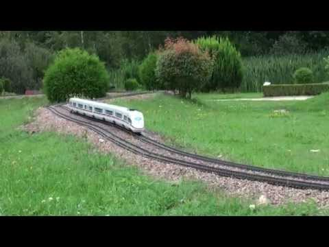 Fastest G-Scale Train on Youtube – ICE3 – Miniwelt Lichtenstein (Germany)