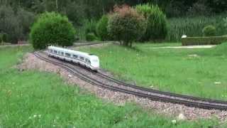 Fastest G-Scale Train on Youtube - ICE3 - Miniwelt Lichtenstein