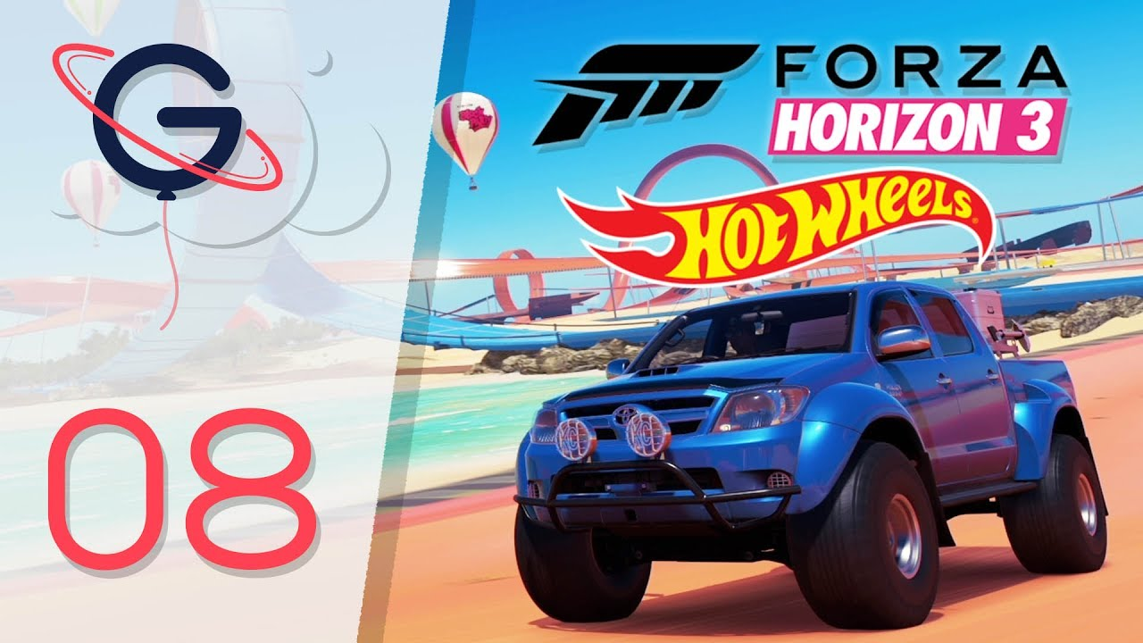 forza horizon 3 hot wheels fr 8 le tr sor de grange et d fis collector youtube. Black Bedroom Furniture Sets. Home Design Ideas