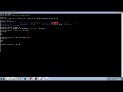 Basic Unix Commands Part 1