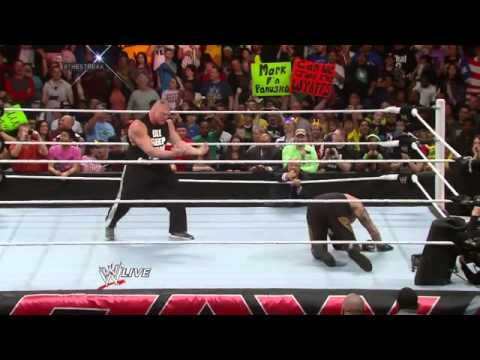 Brock Lesnar F5 Undertaker