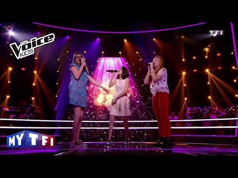 The Voice Kids 2016 | Agathe Noemy Juliette - Chanson pour une drôle de vie (V. Sanson) | Battles
