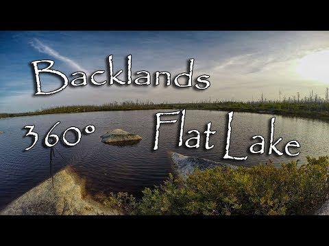 The Backlands - Flat Lake Hike 360°