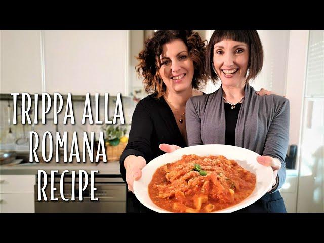 Roman Style Tripe Trippa alla Romana Recipe - Foodie Sisters in Italy
