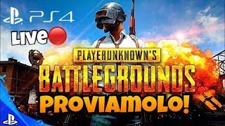 Live PUBG PS4 ITA | Proviamolo! - Addio Fortnite? Gameplay