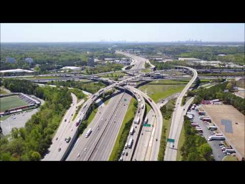 Spaghetti Junction time lapse