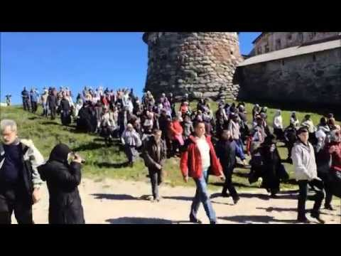 Religious Procession on Solovetsky Islands