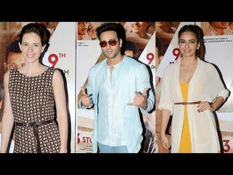 UNCUT - Kalki Koechlin, Kriti Kharbanda, Pulkit Samrat At Screening Of Movie 3 Storeys