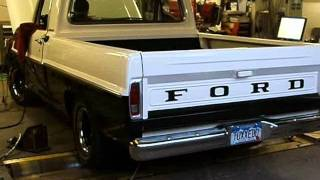 TUX: My 428ci 5-speed 1967 F100 on the Dyno at EPS Tuning Carb