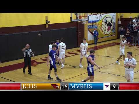 JCHS Boys Basketball vs Marthas Vineyard Regional High School