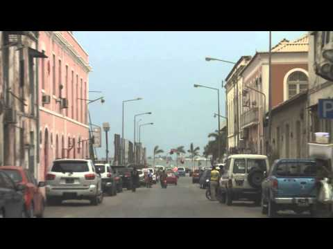 Driving in Luanda, Angola