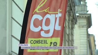 Yvelines : grève dans les cantine