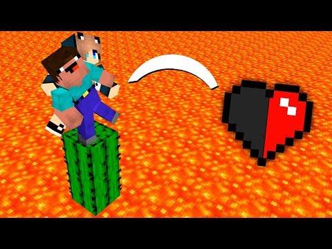 КТО ПОСЛЕДНИЙ УМРЕТ С ПОЛОВИНОЙ СЕРДЕЧКА ПРОИГРЫВАЕТ 5.000 АЛМАЗОВ ! МАЙНКРАФТ ЛОВУШКИ Minecraft