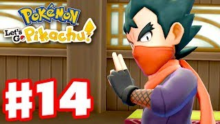 Pokemon Let's Go Pikachu and Eevee - Gameplay Walkthrough Part 14 - Gym Leader Koga!
