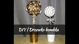 DIY | Ozdoba świąteczna | Drzewko bombka