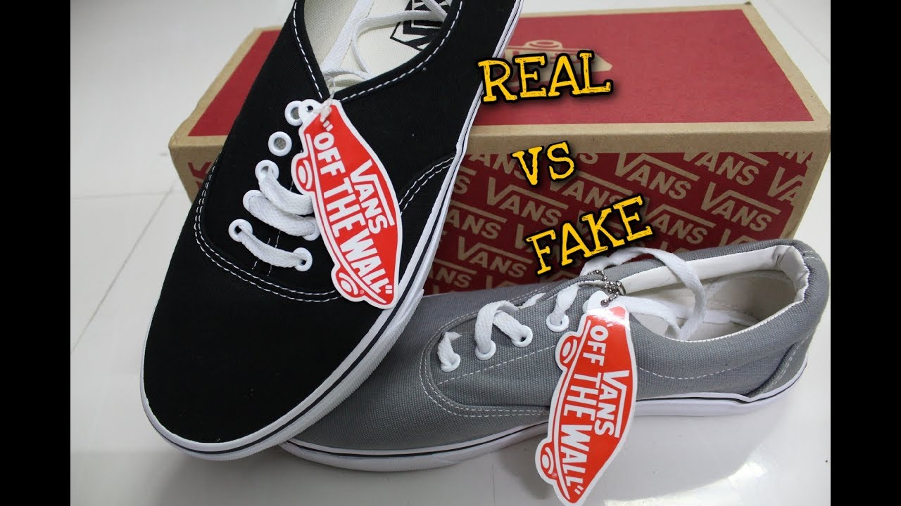 How To Identify FAKE vs REAL Vans  2ebe4cd92