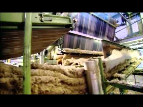How it 39 s made stone wool insulation youtube for Stone mineral wool