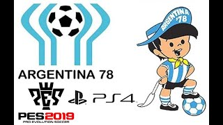 PES 2019 FIFA WORLD CUP MEXICO 1986 OPTION FILE PS4 - HDclub Me HD и
