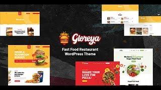 Gloreya - Fast Food WordPress Theme