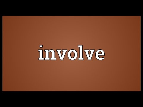 Involve Meaning