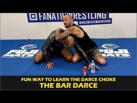 Fun Way To Learn The Darce Choke - The Bar Darce - by Jeff Glover