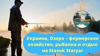 Украина Озеро фермерское хозяйство рыбалка и отдых на Stavok Staryar