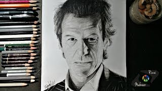 Drawing Imran Khan | World Leader