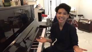 Vũ Cát Tường hát live Em Ơi cùng piano siêu dễ thương