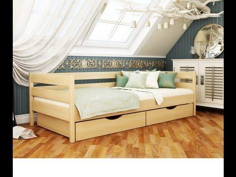 Кровать Нота Эстелла Деревянная
