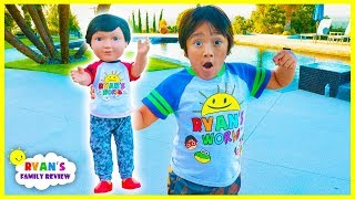 RYAN Turns into a TOY DOLL!!!!!