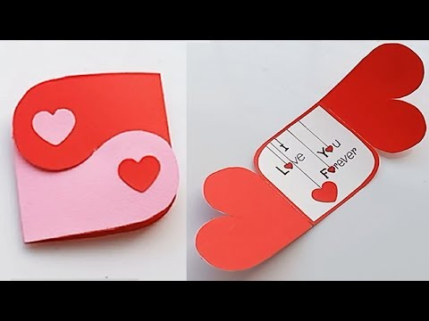 How to make Love Massage Card  for Boyfriend or Girlfriend // Handmade easy card Tutorial