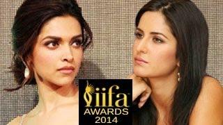 Deepika Padukone IGNORES Katrina Kaif at IIFA Awards 2014