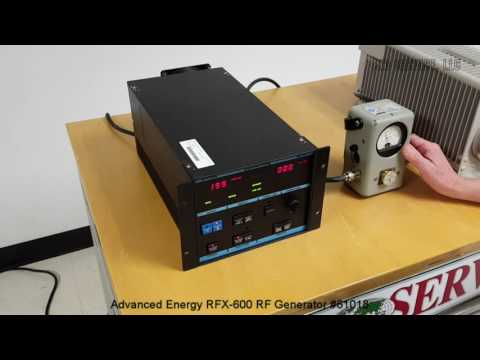 Advanced Energy RFX-600 RF Generator #61018