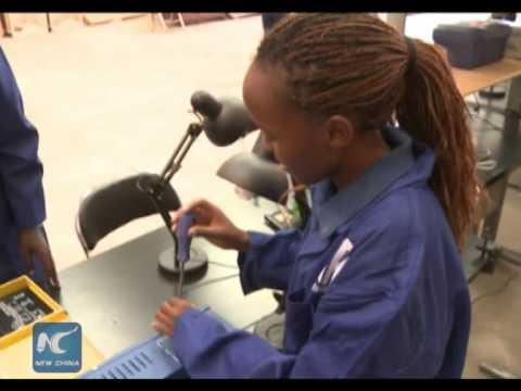China shares solar technology with Kenya