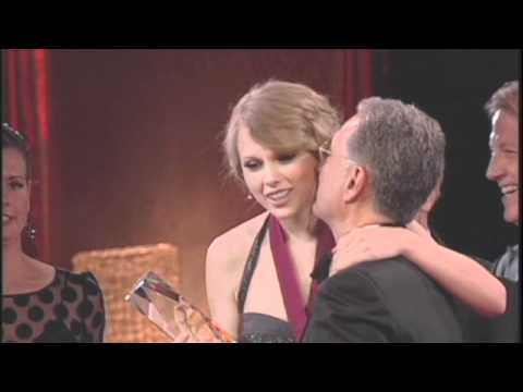Taylor Swift Accepting Her BMI Song of the Year Award at the 2010 BMICountry Awards