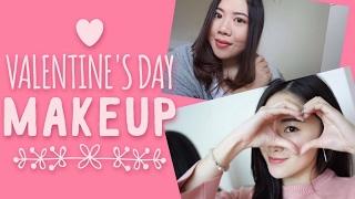 jm 易上手 讓你不再a0的情人節妝容  two valentine s day make up sharing