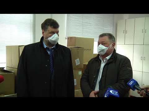 Суспільне Житомир: У Житомирську область надійшла друга партія гуманітарного вантажу із Китаю