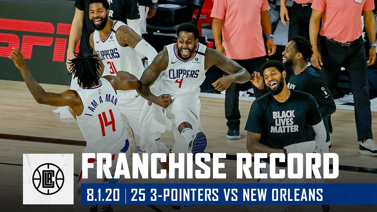 All 25 three-pointers from a record-setting night vs New Orleans | LA Clippers