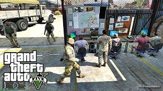 GRAND THEFT AUTO 5 LSPDFR EP # 51 -  ARMY STUFF (GTA 5 PC POLICE MODS)