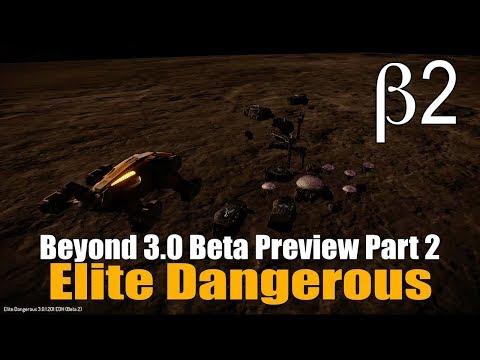 Elite Dangerous - Beyond 3.0 Beta Part 2 - Chieftain, New Traders & Engineering