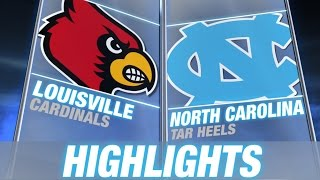 Louisville vs North Carolina | 2014-15 ACC Men's Basketball Highlights