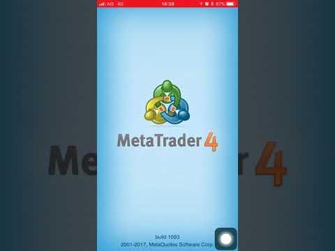 วิธีการใช้งาน MT4  บน IPhone By GKFXPrime