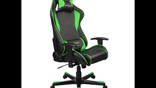 unboxing dxracer f series green gaming chair