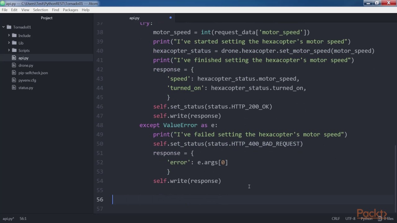 Building RESTful Python web services with Tornado : Defining Request  Handlers   packtpub com