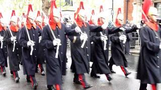 London, Remembrance Day parade 14 Nov 2010, 12:25pm