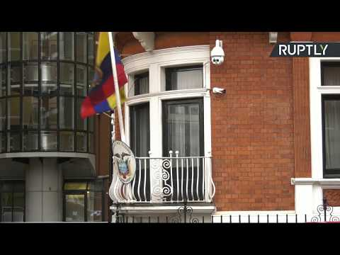 LIVE: Outside Ecuadorian Embassy as court's expected to give
