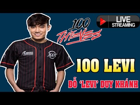 🔴 100TLevi Top 1 Thách đấu Bắc Mĩ - 14/4/2018 - Ủng hộ Levi nào anh em